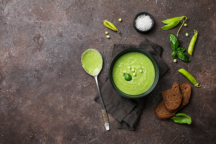 guisantes menta - recetas vegetarianas