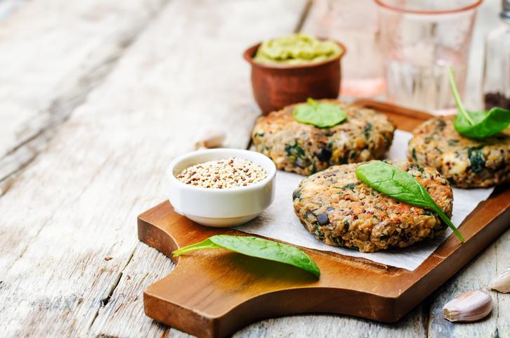 recetas vegetarianas - pastelitos de garbanzos