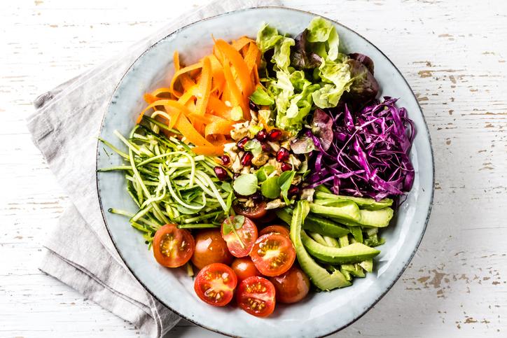 recetas vegetarianas - ensalada