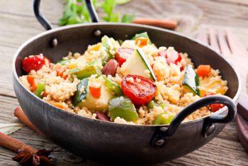 quinoa vegetales peru