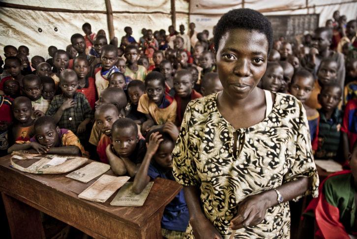 """""""Voluntariado-en-africa"""" Burundi escuela"""