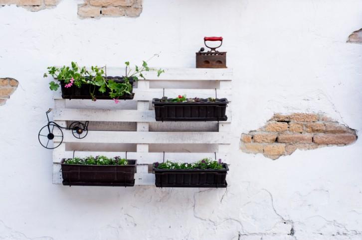 Ap ntate a tener muebles hechos con palets en tu terraza for Muebles terraza palets