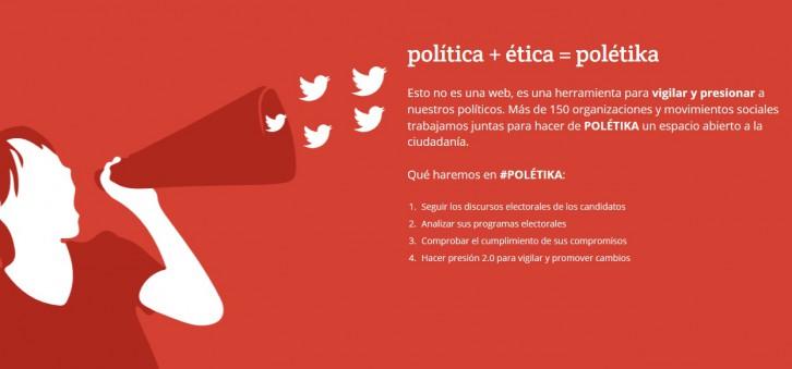 Presentación herramienta Polétika, Madrid 30 de junio 2015