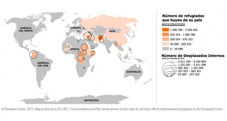 mapa-refugiados-mundo
