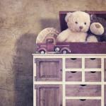 Muebles usados para la habitación de los más pequeños
