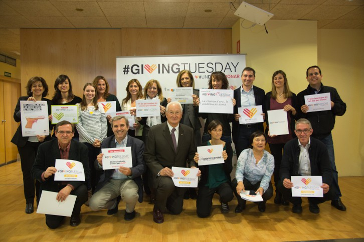 Acto presenteción Giving Tuesday