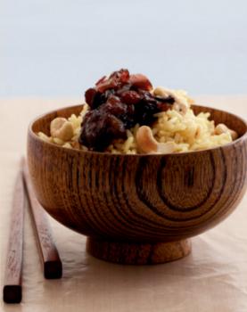 receta-de-arroz-blanco-con-chutney