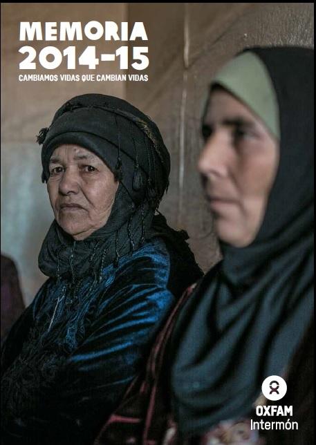 Memoria Oxfam Intermón 2014-2015