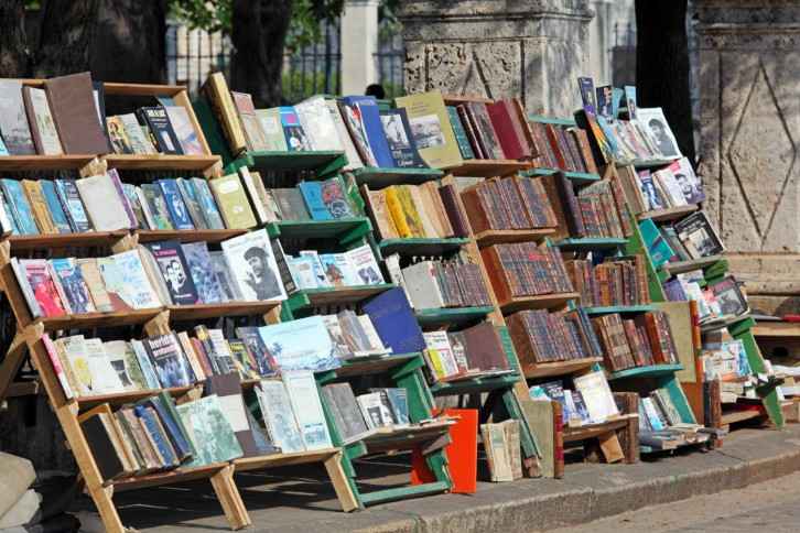 Street Retro Books Market, Havana, Cuba