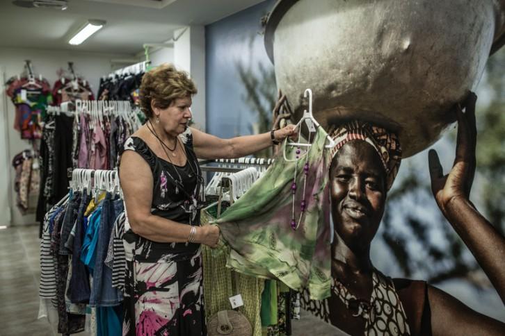 Una de las tiendas Oxfam Intermón Segunda Oportunidad