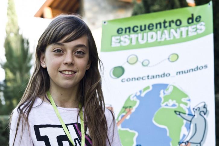 Paula Nova García, tiene 12 años y estudia en el IES Vila-Roja de Almazora, Castellón © Pablo Tosco/ Oxfam Intermón