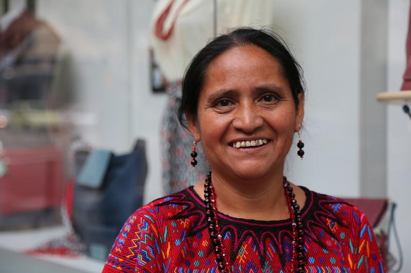 © Ana Sara Lafuente/ Oxfam Intermón (María Morales, Guatemala 1964)