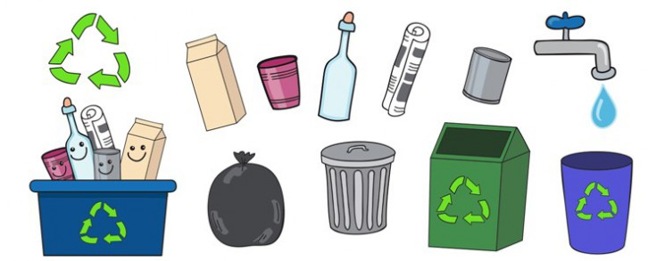 C mo reciclar correctamente gu a para peques for Como reciclar un placard