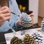 Manualidades de invierno para decorar tu hogar estas fiestas