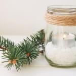 Apuesta por centros de mesa de Navidad… ¡reciclados!