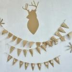 ¿Cómo elaborar una guirnalda navideña con productos reciclados?