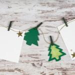 Ideas para elaborar tus propias felicitaciones de Navidad