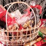 Cestas de Navidad para sortear con productos ecológicos