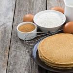 Tres recetas de crepes salados y dulces con ingredientes naturales