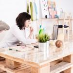 Cinco ideas para crear muebles con palets