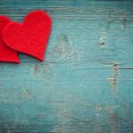 San Valentín: corazones reciclados
