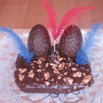 Cómo hacer una mona de Pascua de chocolate saludable y sin gluten