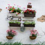 ¿Aún no disfrutas de tu jardín vertical con palets?
