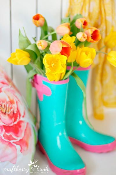 manualidades reciclaje botas