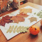 ¡Viva el otoño! Juegos de manualidades con elementos de la naturaleza