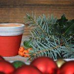 5 ideas originales de macetas decoradas para estas Navidades