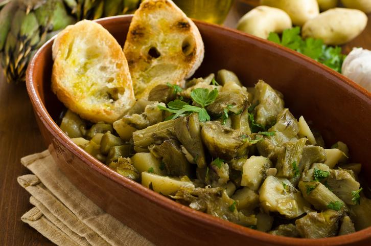 """""""recetas-norte-de-africa-alcachofas"""""""